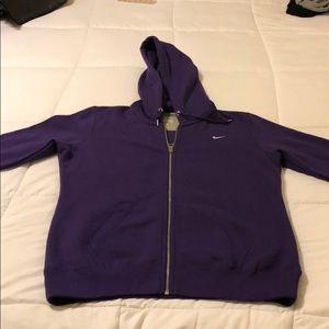 Ladies' Nike Sweatshirt zip up. Barely worn.